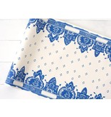 HESTER AND COOK CHINA BLUE PAPER TABLE RUNNER