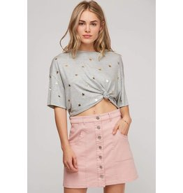 KATE SOLID WOVEN SKIRT