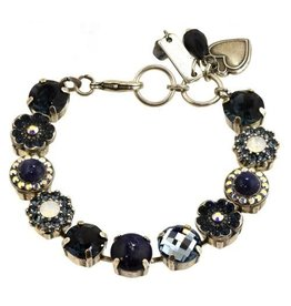 "Mariana MARIANA ""MOOD INDIGO"" silver mixed element bracelet"