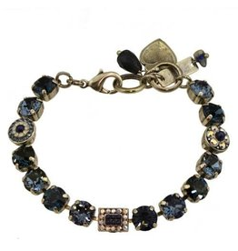 Mariana MARIANA MOOD INDIGO RECTANGLE FOCAL ELEMENT BRACELET SILVER