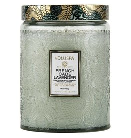 VOLUSPA Voluspa Large Glass Jar Candle 16oz.