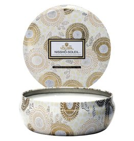 VOLUSPA 3 WICK CANDLE IN TIN 12OZ