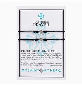 MY SAINT MY HERO BRACELET PRAYER PARTNER