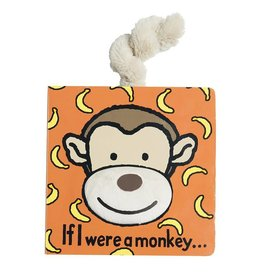 Jelly Cat BOOK - IF I WERE A MONKEY