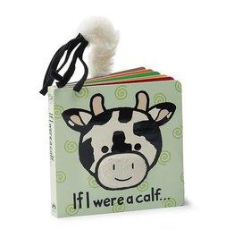 Jelly Cat BOOK - IF I WERE A CALF