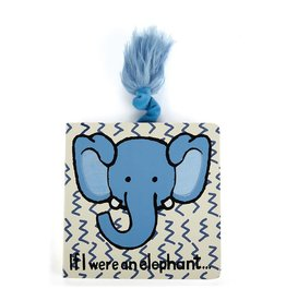 Jelly Cat BOOK - IF I WERE AN ELEPHANT