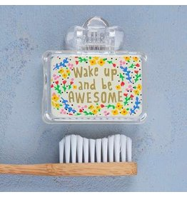 TOOTHBRUSH COVER WAKE UP AND BE AWESOME