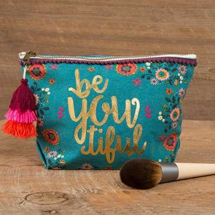 CANVAS MAKEUP POUCH BE YOU TIFUL