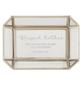 BLESSED MOTHER PROV 31:28 TRINKET TRAY