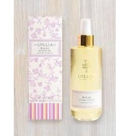 LOLLIA RELAX DRY BODY OIL LAVENDER & HONEY