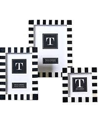 3.5X3.5 B&W STRIPED FRAME