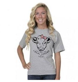SIMPLY SOUTHERN COUNTRY CHICK COW S/S TEE