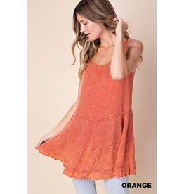 MINERAL WASHED TOP
