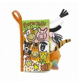 Jelly Cat FARM TAILS BOOK