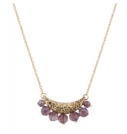 BEADED NECKLACE GOLD