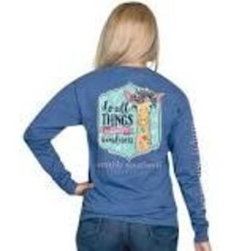SIMPLY SOUTHERN SIMPLY SOUTHERN L/S TEE KIND