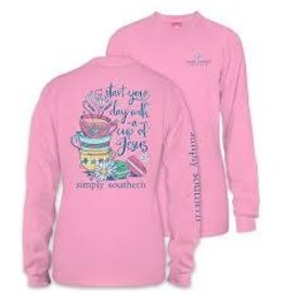 SIMPLY SOUTHERN SIMPLY SOUTHERN LS TSHIRT CUP