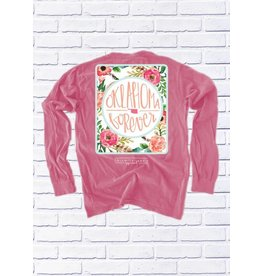 Calamity Jane's OKLAHOMA FOREVER FLORAL BACK L/S
