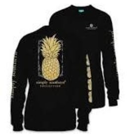 SIMPLY SOUTHERN SIMPLY SOUTHERN L/S PINEAPPLE GOLD