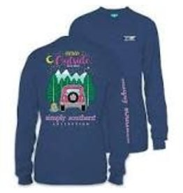 SIMPLY SOUTHERN SIMPLY SOUTHERN L/S PREPPY THINK