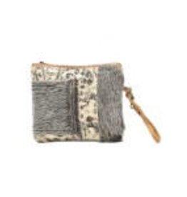 Myra hide-segmented small bag