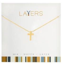 CENTERCOURT LAYERS NECKLACE GOLD 19.99 OR 2FOR$30