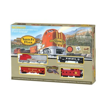 Bachmann HO Santa fe Diesel Flyer Set # 00647