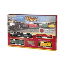 Bachmann HO Pacific Flyer Steam Train Set # 00692 # TOTE1