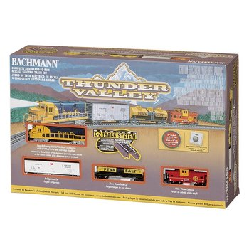 Bachmann N Thuder Valley Santa fe Train Set # 24013