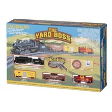 Bachmann N The Yard Boss Steam Train Set # 24014