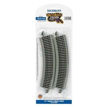 "Bachmann HO (15"") Radius Curved Track (12 Pieces to a Circle) # 44505"