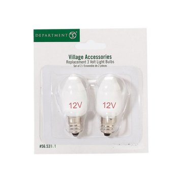 Department 56 Accessories Replacement 12V Light Bulb # 56.53161