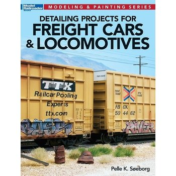 Kalmbach Detailing Projects for freight cars # 12477