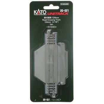 Kato N Straight road crossing 4-7/8 # 20-021