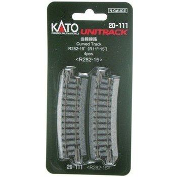 Kato N Unitrack Curved Track R282 # 20-111