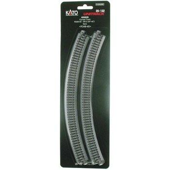 Kato N Curved Track R348-45 Deg (4) # 20-132