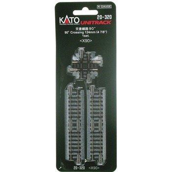 Kato N 90 Deg Crossing Track # 20-320