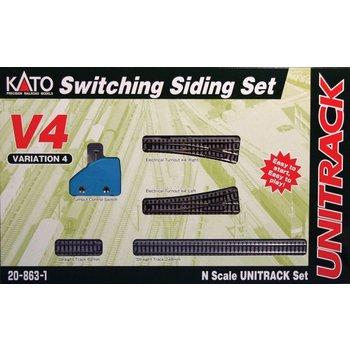 Kato N Switching Siding set # 20-863-1