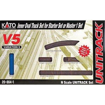 Kato N V5 Inside Loop Track set # 20-864-1