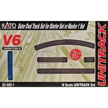 Kato N V6 Outside Loop Track set # 20-865-1