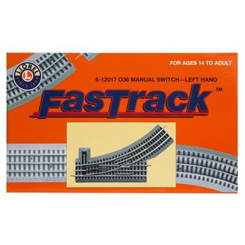 Lionel O Fastrack Manual O36 Switch (Left Hand) # 6-12017