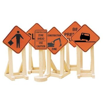 Lionel O Construction Zone Signs # 6-81064