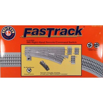 Lionel O Fastrack 060 Right Hand Remote / Command Switch # 6-81950