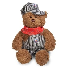 Gund Lionel Engineer Bear # 9-32011
