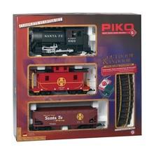 Piko G Santa Fe Steam Freight Starter Set # 38104