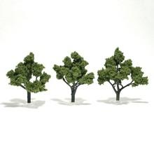 "Woodland Scenics Trees 4"" to 5"" Light Green Trees # 1509"