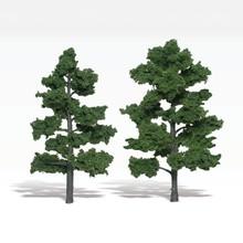 """Woodland Scenics Realisric Trees 6"""" to 7"""" Tall # 1516"""