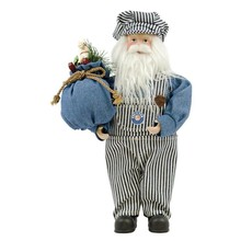 "Lionel Engineer 12"" Fabric Santa # 9-33022"