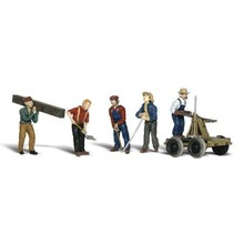 Woodland Scenics O Rail Workers  pkg (5) # 2747