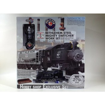 "Lionel O Bethleham Steel ""Mighty Switcher"" Work Set # 6-81270"